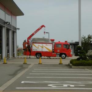 救急医療週間「救命講習」、消防署見学 いざという時のために。