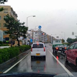 雨の中、無理な旅路でいざ鎌倉へ(;´・ω・)