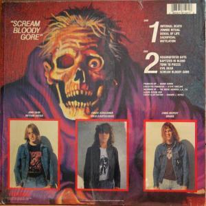 DEATH - Scream Bloody Gore(デス/スラッシュメタル)