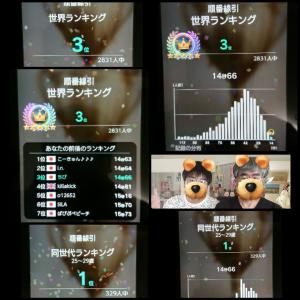 第71回 世界一斉脳トレ大会記録(20210619)