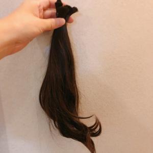 hair donation  バッサリ切りました