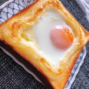 おうちブランチ マヨまたトースト