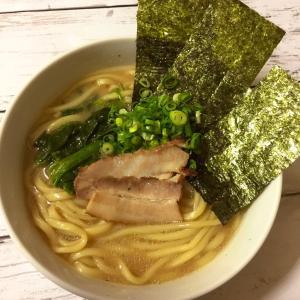 なべやき屋キンレイ「お水がいらない横浜家系ラーメン濃厚豚骨醤油味」を食べてみた