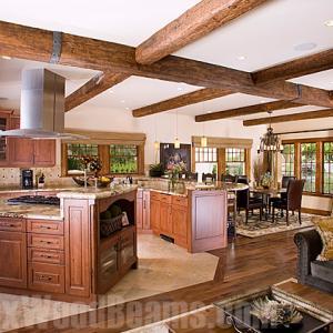 フェイク ウッド ビーム 古材に似せた梁材ウレタン製装飾擬木 素敵です