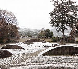 京都雪景色紀行 @岩座実相院