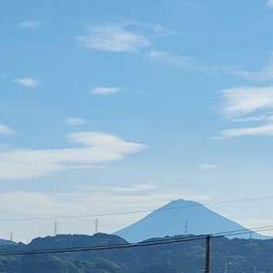 梅雨明け間近・・富士山