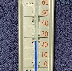 外は暑いです