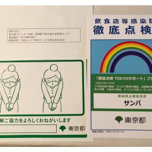 東京都からポスター(いやステッカーだよね)届きました