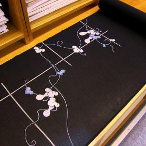 【桐壷】京都菱健絽附下~夏の菱健謹製の瓢箪文夏の附下です
