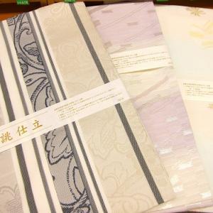 西陣織の正絹夏名古屋帯【お仕立上り】が入荷しました!