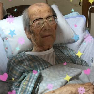101歳じーちゃんのお尻