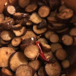 ペペロンチーノ茄子