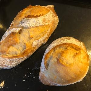 この前より上達したパン