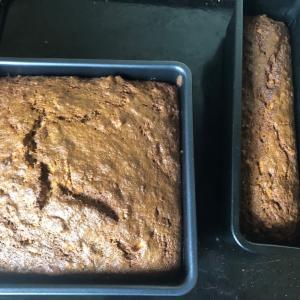 蕎麦粉100%キャロットケーキは蕎麦粉の味