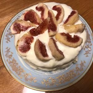 イチジクケーキ作ってみた