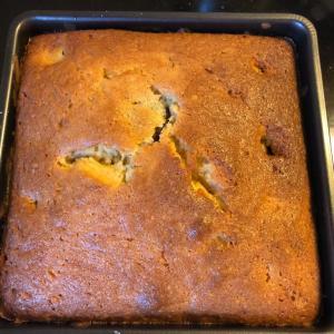 渋皮煮パウンドケーキ作った