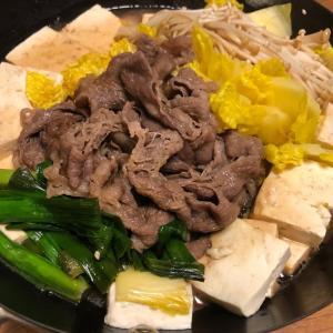 薄切りの牛肉はいつもすき焼き
