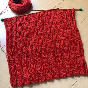 編み物楽すぎる
