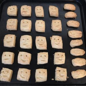 お礼のスマイルクッキー