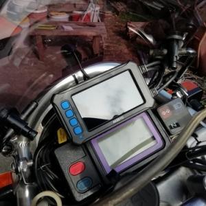 TT250Rレイド ドライブレコーダー取り付け