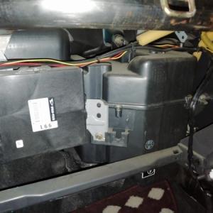 ミラジーノ L700S エアコン エバポレーター清掃
