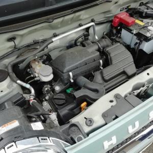 ハスラーエンジンオイル交換