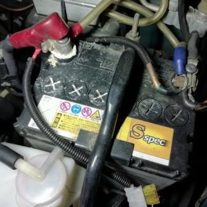ジーノ(L700S)バッテリー交換