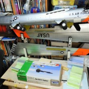 1/32 NB-52A&X-15 製作中 Part286