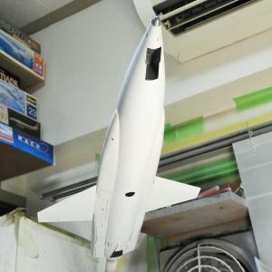 X-15A-2 ablative 製作中 Part19