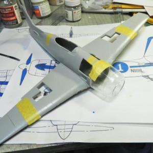 F8F-2 #1ベアキャット 製作中 Part2