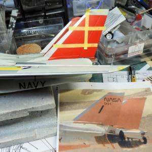 F-14A NASA 製作中 Part30