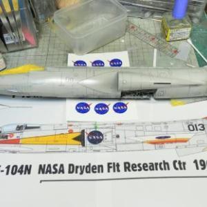 F-104N 製作中 Part17
