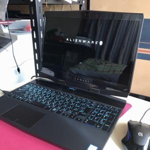 金魚じゃないお話 DELL Alienware m15 4k RTX2060モデルを購入