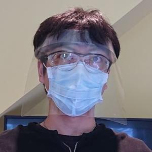 又吉歯科医院の手作りシールド