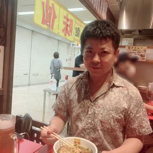 台湾ラーメン 味仙→千疋屋マスクメロンパフェ