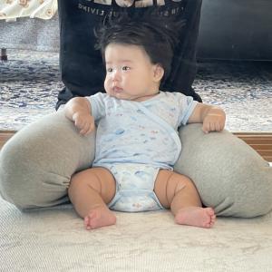 長男4ヶ月8.5キロ