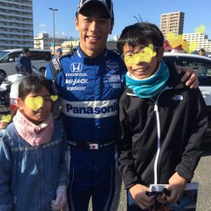 With youJapan  Takuma Sato
