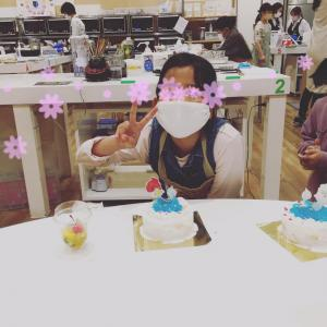 アリエルケーキ完成!