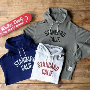 STANDARD CALIFORNIA SD Pullover Hood Sweat with Logo