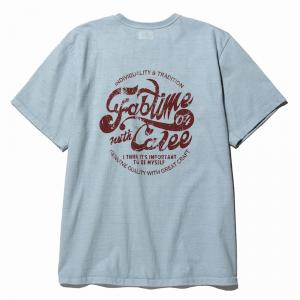 CALEE Binder neck fab time t-shirt
