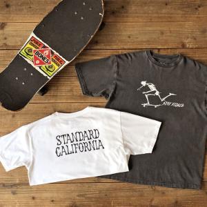 STANDARD CALIFORNIA AH × SD Stay Stoked Skate T