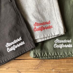 STANDARD CALIFORNIA SD US Cotton Script Logo Sweat Shorts