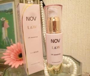 高保湿エイジングケアノブ L&Wシリーズのハリ美容液★『ノブ L&W リフトエッセンス』