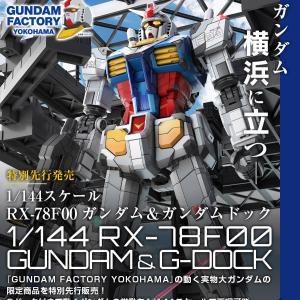 【プレミアムバンダイ限定】1/144 RX-78F00 ガンダム&ガンダムドック