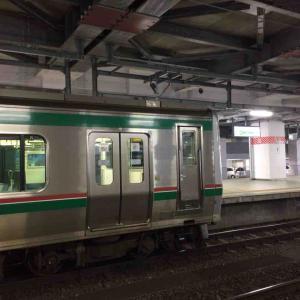 昨日の仙台駅