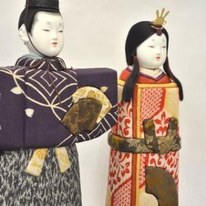 立ち雛と古布を使った木目込み雛人形を12月中旬に発表!・そして孫の美月の表現会を観る