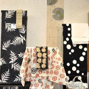 石川県の浴衣専門店から「黒を活かしたゆかたコーディネート3人家族」を紹介してみます