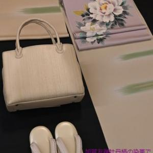 加賀友禅の作家さんが描いた「牡丹柄の染帯」・そして上品な着物コーディネートに満足