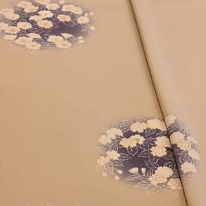 京友禅の椿と桜柄の附下・そしてコロナ禍の今を着物業界の中で分析