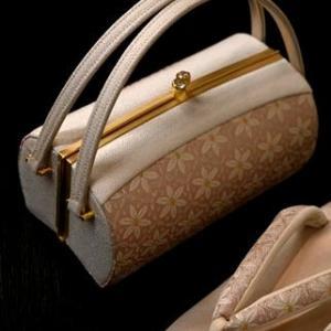 来春の入学式用母の着物コーディネート・合わせたバッグが可愛いでしょう・・・